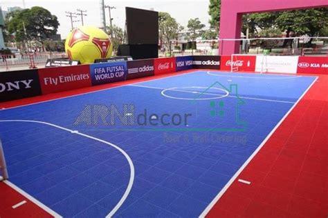 Lapangan Futsal Interlock kenali 3 jenis pelapis lantai lapangan futsal