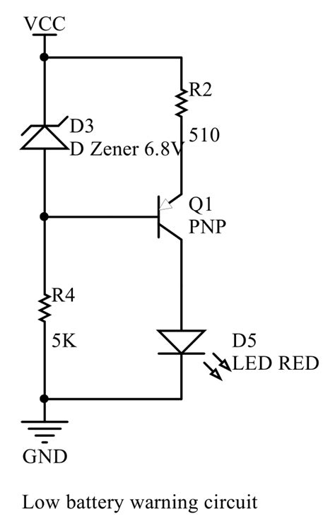 power supply - Confused about battery voltage warning