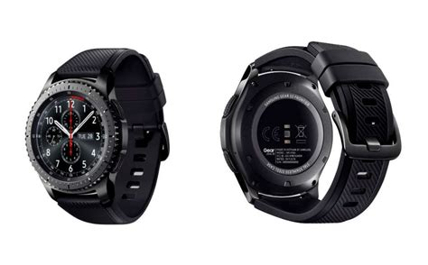 rugged smartwatch samsung s gear s3 smartwatch is rugged regardless pickr your australian source for news