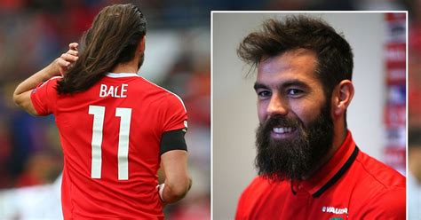 gareth bale long hair gareth bale may make 163 360 000 a week now but wales pals