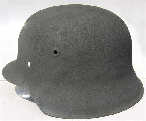 Helm Schwarz Lackieren by Ww2 German Helmet Aluminium Oxide Warhats