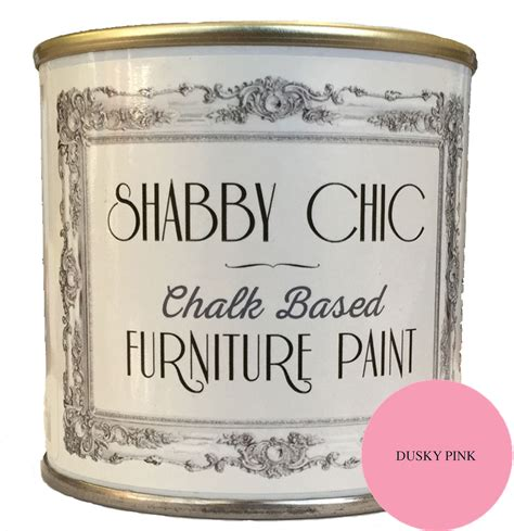 Dusky Pink Shabby Chic Furniture Chalk Paint 250ml