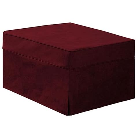 hide a bed ottoman slip cover at support plus fd6722