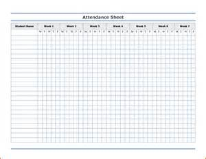 8 attendance sheet pdfreference letters words reference