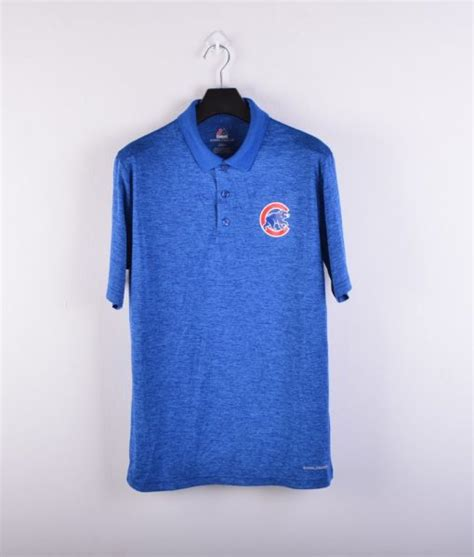 Kaos Baseball Chicago Cubs by Jual Polo Shirt Baseball Majestic Coolbase 2018 Original