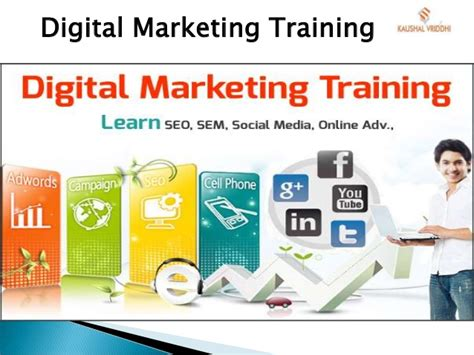 Digital Marketing Degree Course 5 by Digital Marketing Certification Courses In Noida