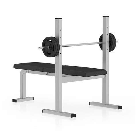 modells weight bench flat weight bench 3d model max obj fbx c4d mtl cgtrader com