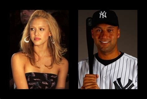 Jeters At It Again by Alba Was Rumored To Be With Derek Jeter