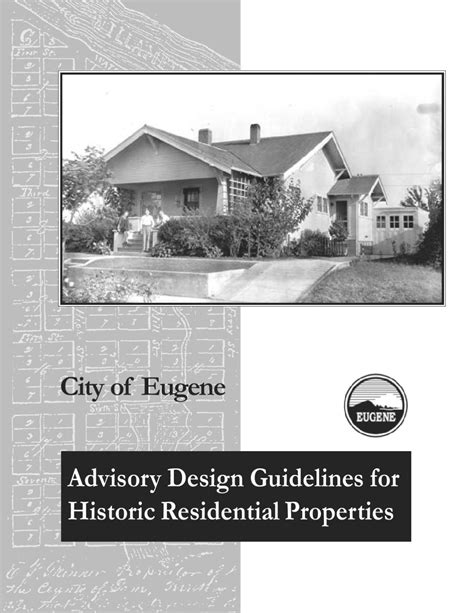 design guidelines for local historic districts advisory design guidelines for historic residential