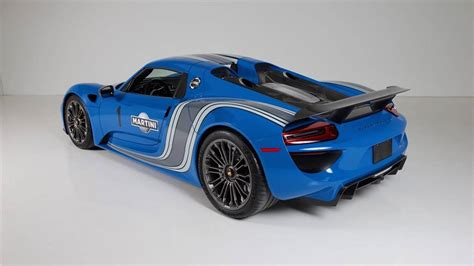 porsche 918 spyder blue buy the world s only factory voodoo blue porsche 918 spyder