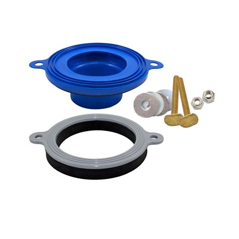 Seal Plumbing by Fluidmaster Tank Lids Better Than Wax Universal Toilet