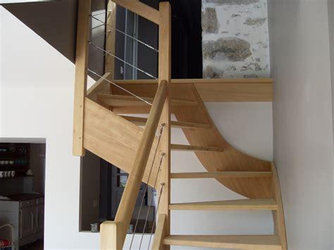 escalier sur mesure menuiserie morbihan 56