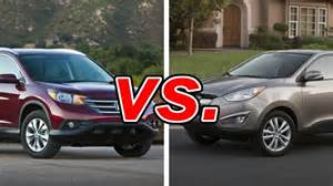 compare tucson and cr v autos post