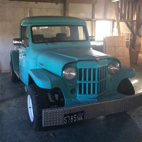 willys jeep truck 4 door vintage 1963 4wd jeep willy s pickup truck with original