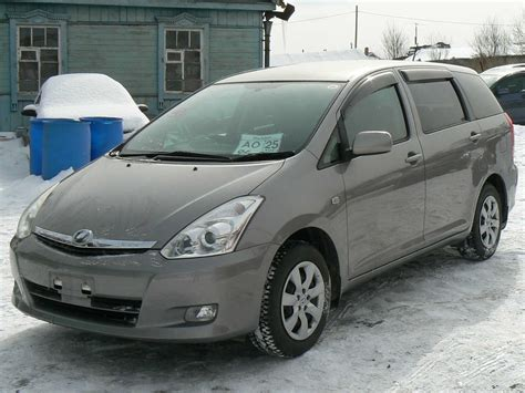 toyota wish 2005 toyota wish pictures 1 8l gasoline ff automatic