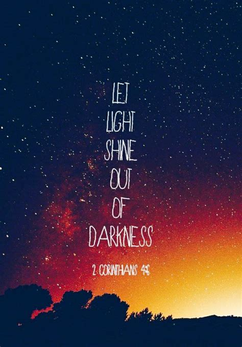 light and darkness bible quotes about darkness and light quotesgram