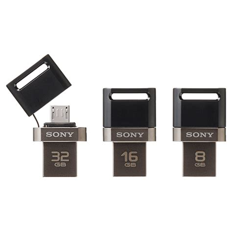 Sony Microvault Flashdisk Usb 3 0 32gb Usm32gqx Black sony usm32sa1 microvault usb flash drive otg 32gb black jakartanotebook