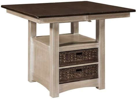 square pub table with storage enfield square bar table with storage countryside amish