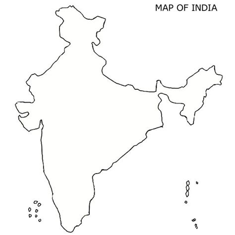 An Outline Political Map Of India by Best Photos Of India Map Outline Printable India Map Political Outline India Map Outline And