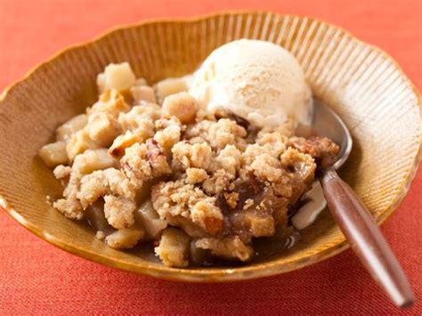 apple crisp recipe the neelys food network