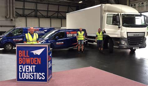 event design logistics event and exhibition transport and logistics bill bowden