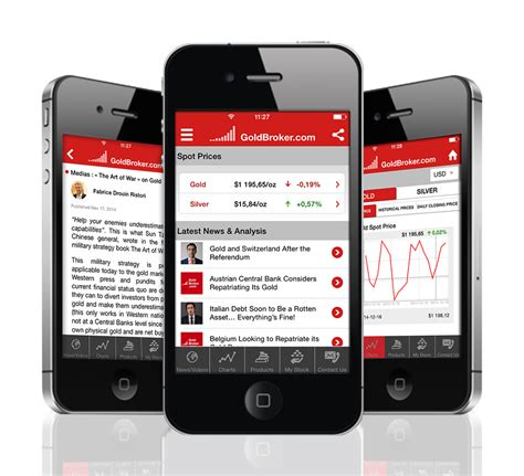 mobile apps news mobile app for iphone gold silver prices markets news