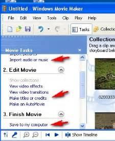 tutorial windows media movie maker membuat video sederhana dg windows movie maker