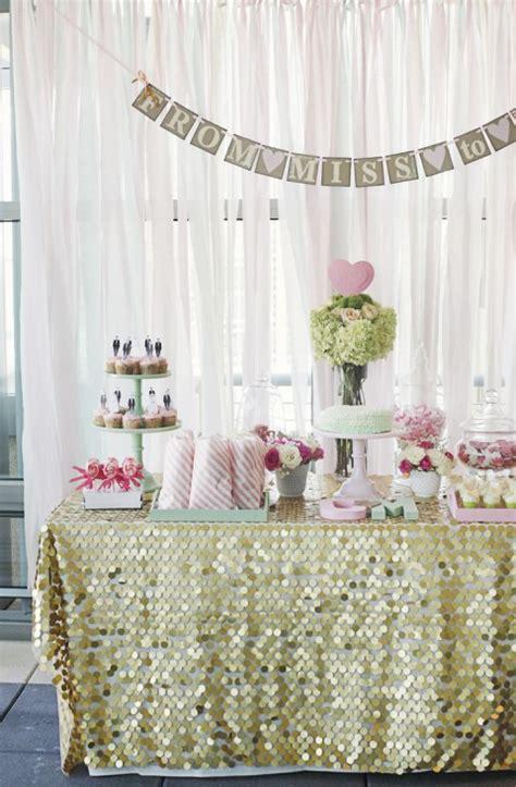 pink bridal shower decorations 65 pink bridal shower ideas happywedd