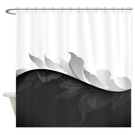 Black And White Bathroom Shower Curtain Black And White Shower Curtain By Bestshowercurtains
