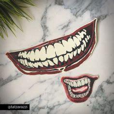 tattoo joker smile jared leto s joker inspired suicide squad set of by