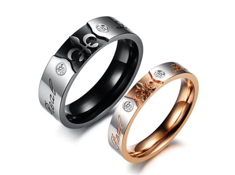 him style matching ring set promise