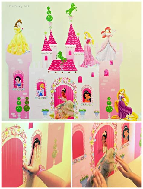 princess castle wall sticker princess ideas a disney princess celebration