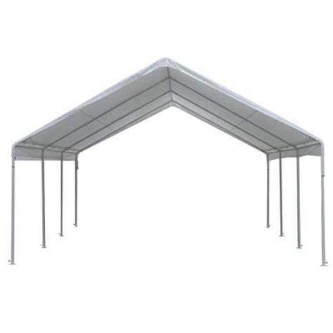 king canopy hercules 18 ft w x 20 ft d steel frame