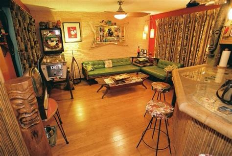 living room bar ideas marceladick my tiki 1950 s house pics tiki central home
