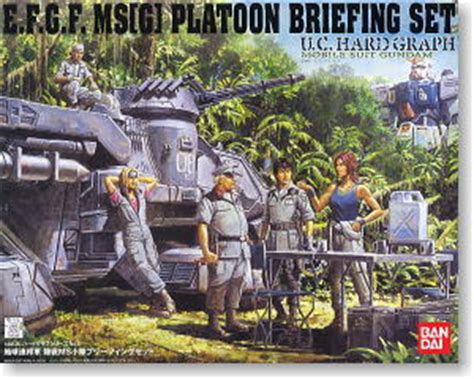 Jaket Gundam Unicorn E F S F Army Canvas Ja Gdu 07 e f s f ms briefing set gundam model kits hobbysearch gundam kit etc store