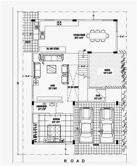 luxurious duplex house plan 40 215 50 ghar planner