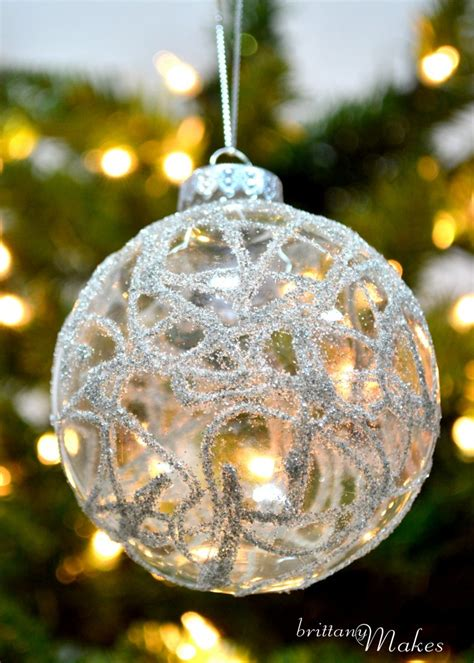 my diy christmas part 4 quot german glass glitter ornaments