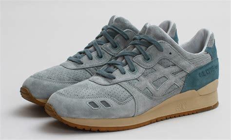 Asics Gel Lyte Iii St Alfred Premium 1 alfred x asics gel lyte iii olive birch sneakers addict