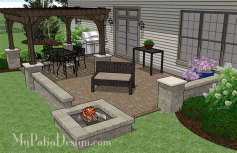 paver patio designs with pit patio designs with pit and tub home citizen