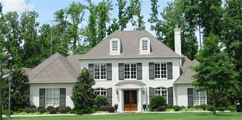 traditional 2 story house plans 654043 two story 5 bedroom 4 5 bath french traditional