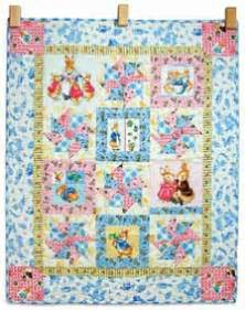pinwheel baby quilt kit pattern from connectingthreads