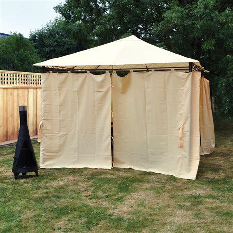 gazebo side curtains heavy duty outdoor garden gazebo tent wedding