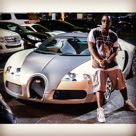 Lamborghini Truck Diddy Puff Sits Next To A Bugatti Veyron The Third One