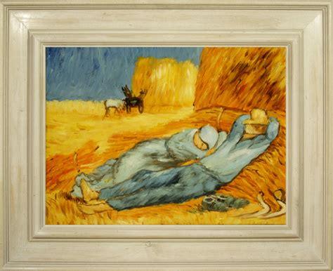 cuadro famoso cuadros famosos cuadros de gogh con marco blanco la
