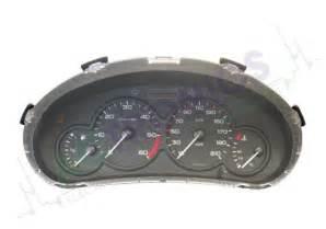 Peugeot 206 Instrument Panel Peugeot 206 1998 2008 Actronics Srl