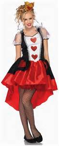 This costume includes dress with glitter heart accents removable back