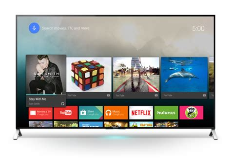 android tv s android tv will power sets from sony sharp and philips beginning this techcrunch