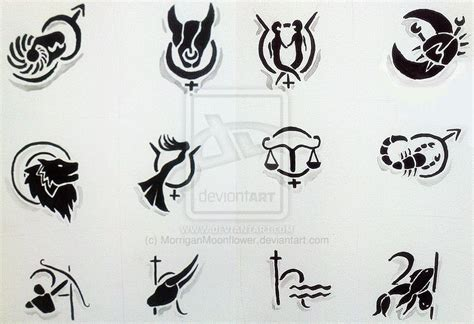 tribal zodiac tattoo designs zodiac tribal tattoos designs