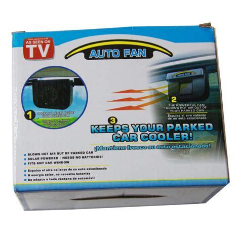 power auto as seen on tv 48pcs lot solar power auto fan car air vent