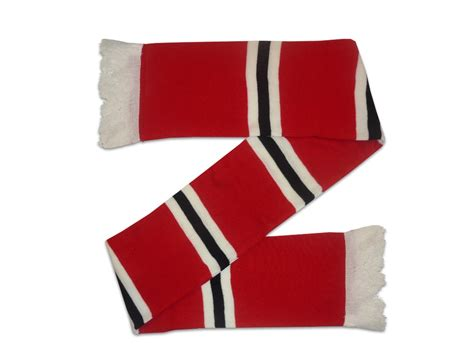 manchester united home colours bar scarf ebay
